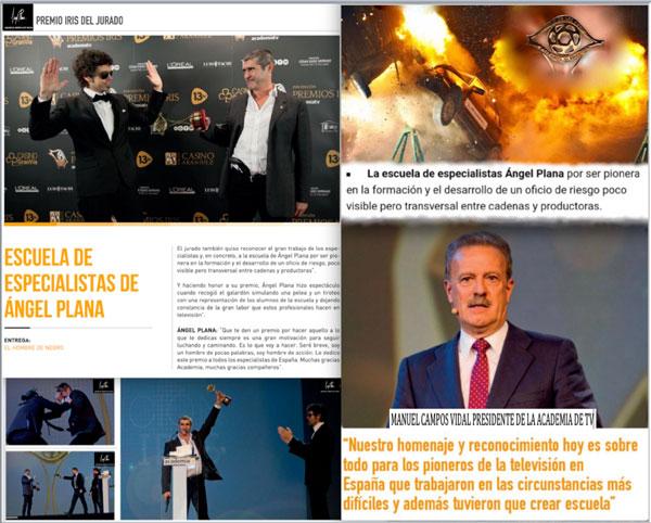 Premio Iris a la Escuela de Especialistas Ángel Plana